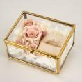 【アンティーク結婚指輪】〜ラブボンド〜リングボックスプレゼントフエア