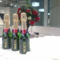 ブライダル仙台店オープン記念シャンパンプレゼント